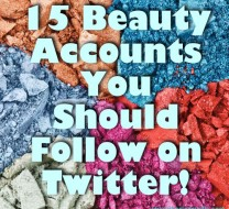 beauty accounts twitter