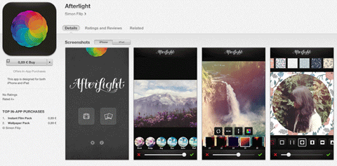 Afterlight App